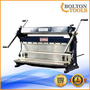 Bolton Tools 30 Combo 3 In 1 Sheet Metal Machine Shear Brake And Roll Sbr3020