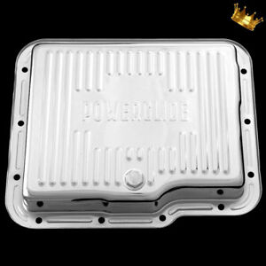 Chrome Chevy Powerglide Transmission Pan Fits Chevrolet Power Glide Trans