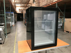 Nsf Counter Top Glass Freezer Merchandiser Ice Cream commercial