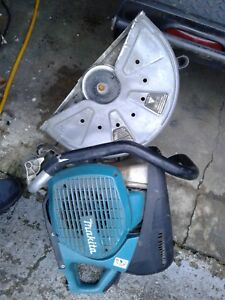 Makita Mm4 Concrete Saw Gas Powered Used Condition Needs Pull String