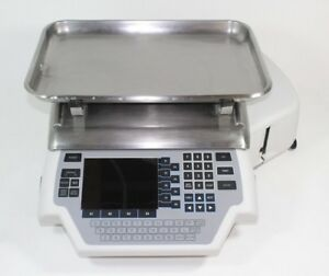 Hobart Quantum Commercial Deli Meat Seafood Scale W Label Printer