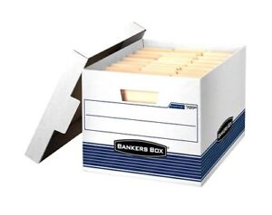 Bankers Box Stor file Medium duty Storage Boxes Letter legal 12 Pack 00789