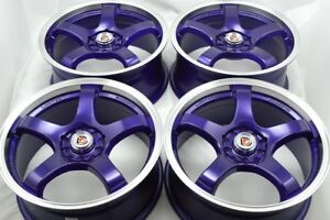 17 Purple Wheels Rims Nitro Mkz Tsx Milan Caravan Stratus Probe Xb 5x100 5x114 3