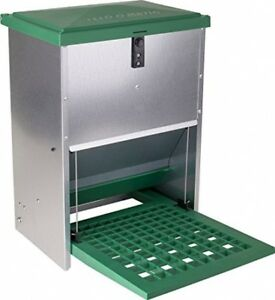 Automatic Treadle Feeder For Chickens And Other Poultry 6 8 Hens 26 5 Of