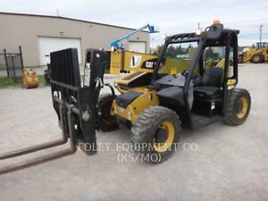 2015 Caterpillar Th255c Telehandler Forklift Telescopic Telehandler Forklifts