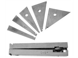 6pc Tangent Bar Angle Block Set