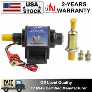 12s 12v Universal Micro Electric Low Pressure Electric Fuel Pump Kit 4 7 Psi