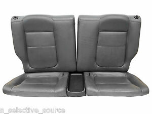 94 01 Acura Integra Gsr Vtec Oem Jdm Grey Gray Leather Rear Seats Trim B18 Dc2