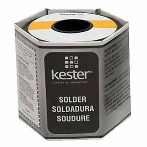 Kester 24 6040 0018 Rosin Cored Wire Solder Roll 44 Activated 0 025 Diameter