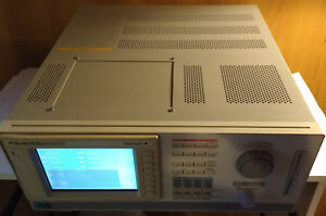 Yokogawa Pz4000 model 253710 Power Analyzer W 2x 253751 And 2x 253752 Modules
