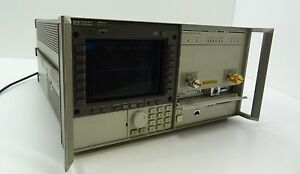 Hp 70004a Spectrum Analyzer Display Mainframe W Hp 70842b Error Detector