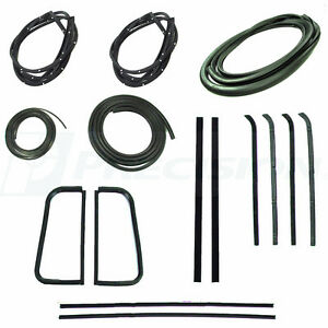 1955 1956 1957 1959 Chevrolet Gmc Pickup Truck Complete Weatherstrip Seal Kit