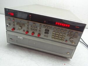 Hp Hewlett Packard Agilent 8673c Synthesized Signal Generator 05 18 6ghz