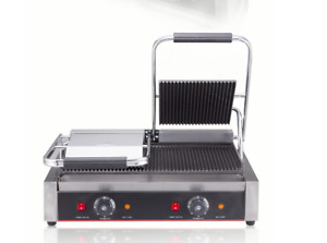 Commercial Panini Press Grill Sandwich Griddler