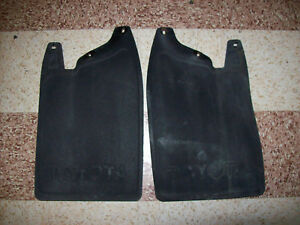 1984 1989 Toyota 4wd 4runner Surf Hilux Pickup Pick Up Truck Front Mud Flaps