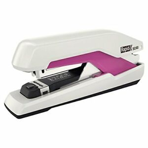 Rapid Supreme Omnipress So60 Fullstrip Stapler White pink Free2dayship Taxfree
