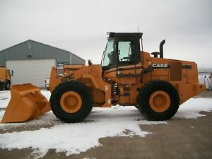 2005 Case 821c Wheel Loaders
