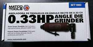 brand New Right Angle Die Grinder Mt1983 Matco Tools