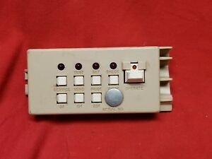 Automatic Products 4000 5000 Series Snack Machine Operators Control Panel