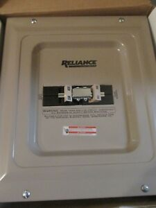 Reliance Generator Transfer Switch 100 Amp 240 Volt Model Tca1006d