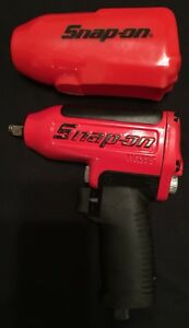 Snap On Tools Mg325 Super Duty 3 8 Drive Air Impact Wrench W Boot