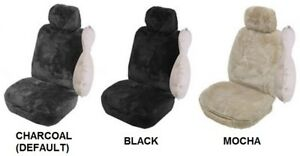 Single 27mm Sheepskin All Over Car Seat Cover For Honda S600 Rwd Convertible