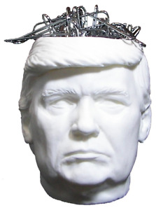 Trump Head Paper Clip Holder Paperclip Holders