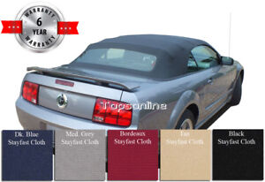 Ford Mustang Convertible Soft Top With Heated Glass Window Haartz Cloth 2005 14