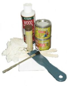 Rotted Wood Repair Kit Pc Products A Paste Epoxy Made From Real Wood Paintable