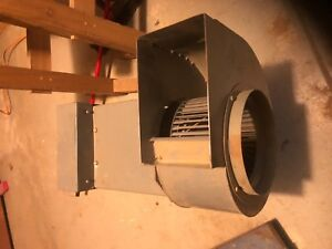 American Fan Company Smb 9 Squirrel Cage Style Utility Blower With Century Motor