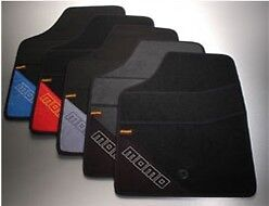 Momo Universal Floor Mats T1000 Type A Black And Red