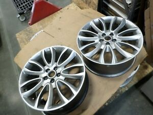 2015 18 Lincoln Mkc Used Wheel 19x8 5 108 52 5 Silver Finsih 10019