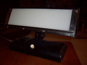 Antique Medical Dental X ray Light Box Eluminator
