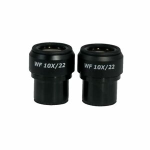 Wf 10x Widefield Focusable Microscope Eyepieces High Eyepoint 30mm Fov 22mm
