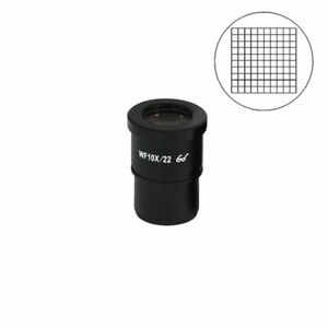 Wf 10x Widefield Microscope Eyepiece With Reticle Net Grid High Eyepoint 30mm