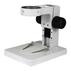 Microscope Table Track Stand 76mm Focusing Rack 185mm Track Length 115mm Focu