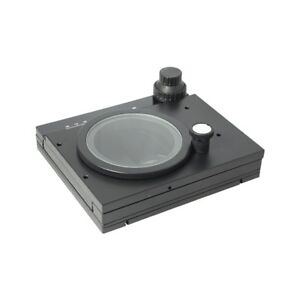 Xy Mechanical Rotating Stage Precision Measurement For Microscopes