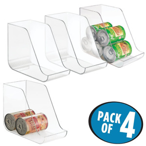 Mdesign Canned Food Storage And Soda Organizer For Kitchen Pantry Or Cabinet