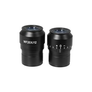 Wf 20x Widefield Focusable Microscope Eyepieces High Eyepoint 30mm Fov 12mm