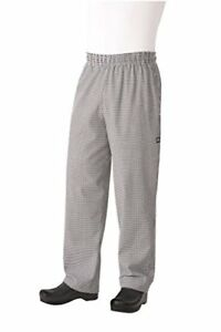 New Chef Works Men s Essential Baggy Chef Pant nbcp Free2dayship Taxfree