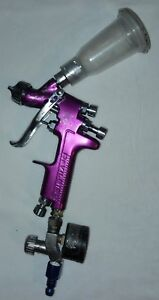 Devilbiss Sri Pro Spray Gun Pre Owned With Gauge More Works Great