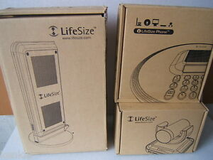 Lifesize Room Video Conferencing Bundle Camera Tower Phone Accessories Orig Box