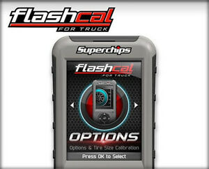 New1545 Superchips Flashcalf5 Calibration Tool 99 19 Ford Powerstroke Diesel Gas