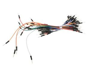 Velleman Wjw009n Awg Jumper Wires One Pin Male To Male