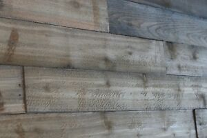 Aged Weathered Barn Wood Pallet Wood 6 x 36 x 5 8 10 Pack 15 Sqft free Ship
