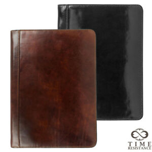 New Full Grain Leather High Quality Document Folder Hand Made In Lithuania