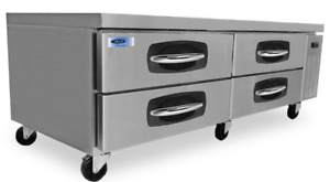 Norlake Nlcb72 Advantedge Commercial Four Drawer Refrigerated Chef Base
