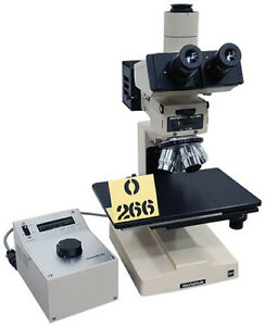 Olympus Bhm Inspection Microscope Tag o266