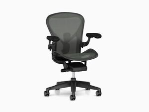 Herman Miller Aeron Chair Remastered Model Brand New 12 Year Warranty B Size