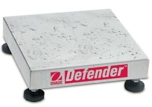 Ohaus Defender D250WX Stainless 250kg x 20g Washdown Industrial Bench Scale Base